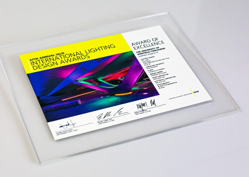 Acrylic Plaque With Digital Print Personalization 003