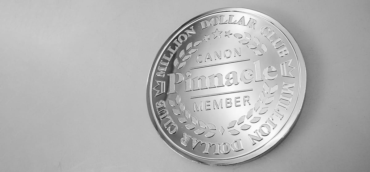 Canon Million Dollar Club
